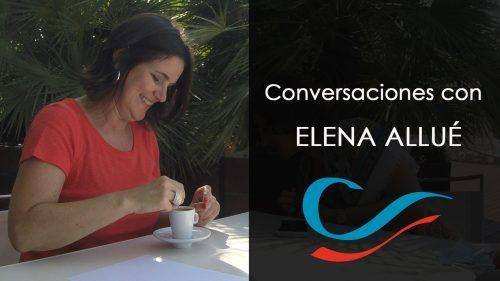 Elena Allué. Ana Sanz. Crecimiento político
