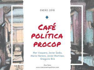Café Política Procop enero, coaching político