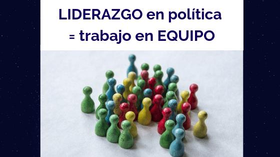 Ana Sanz, coaching político. Liderazgo en política = trabajo en equipo, B