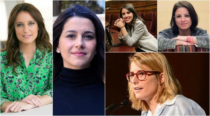 Mujeres jóvenes politicas