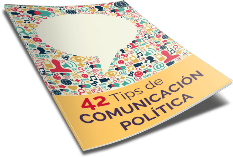 Portada ebook 3 D 42 tips comunicación política