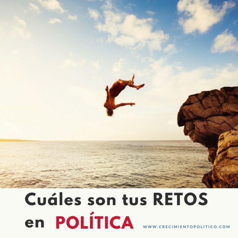 Retos en política, coaching político