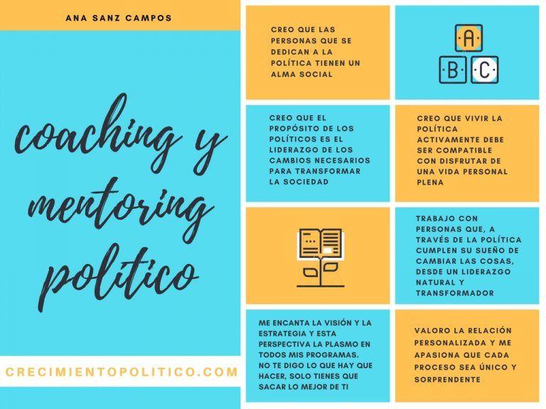 coaching mentoring político Ana Sanz