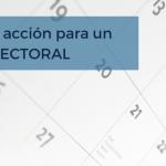 Plan de acción para un año electoral