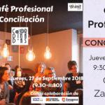 Café profesional: conciliar en la vida política.
