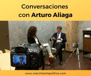 Conversaciones con Arturo Aliaga, presidente PAR. Ana Sanz