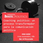 Encuentro Beers & Politics el jueves, 8 de noviembre