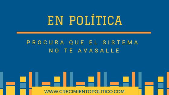 En política procura que el sistema no te avasalle, Ana Sanz