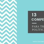 13 competencias para tener éxito en política