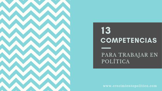 13 competencias en política