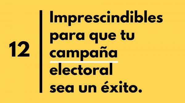 Estrategia electoral 1. Ana Sanz, coaching político
