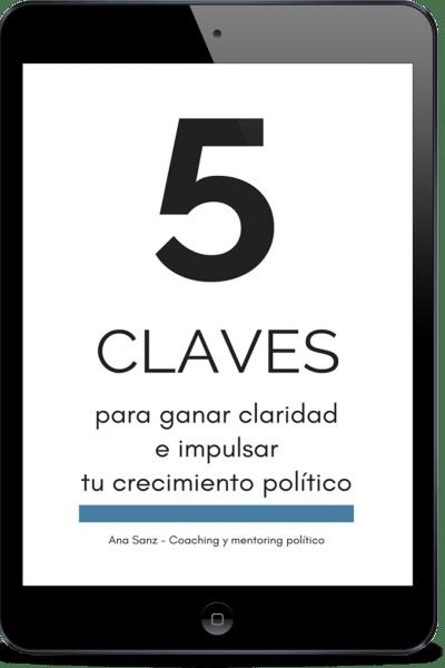 5 claves coaching político Ana Sanz